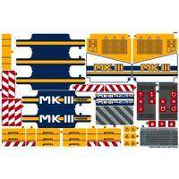 Lego Genuine Technic 42055 Bucket Wheel Excavator Sticker Sheet Decals Logo NEW