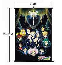 New Hot Japan Anime Sexy Sailor Moon Home Decor Poster Wall Scroll 21*30CM 001