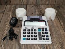 Casio Big 12 Digit Receipt 2-Color Printing T&E Calculator HR-100TE plus paper