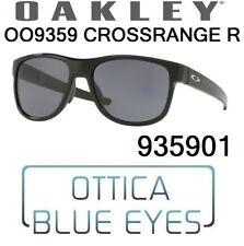 Occhiali da Sole OAKLEY CROSSRANGE R OO 9359 01 Sunglasses 935901 black grey