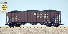 USA Trains G Scale 14005 70 TON 3 BAY COAL HOPPER Southern Pacific - Box Car Red