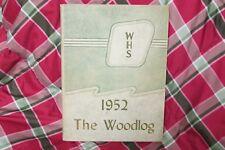 1952 Woodlawn High School Yearbook, Birmingham, Alabama,  Annual