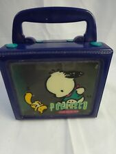 "Vintage 1996 POCHACCO The Cool K-9 Vinyl Carrying Case CUBE 5"" x 4 1/2"""