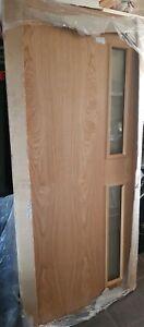 """Premdor Modern CF625 FD30 Fire Door Glazed Door 36""""x78"""""""
