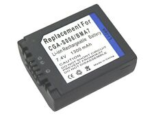 New CGR-S006E CGR-S006 Cameras Battery For Panasonic Lumix DMC-FZ50 FZ7 V-LUX1