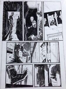 Batman 34 Page 19 Matteo Scalera Original Art
