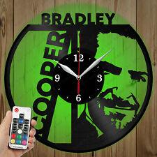 LED Vinyl Clock Bradley Cooper LED Wall Art Decor Clock Original Gift 4280