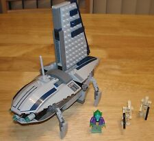 LEGO Star Wars Separatists Shuttle Set 8036 100% Complete With Instructions
