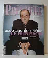 PREMIERE MAGAZIN (N°274) JEAN-PIERRE BACRI - 2000 ANS DE CINÉMA (CT309)