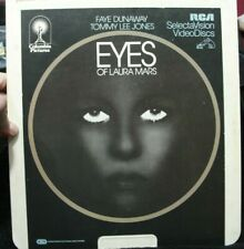 Eyes Of Laura Mars Fay Dunaway Rca SelectaVision VideoDisc Ced Tommy Lee Jones
