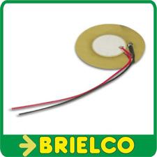 DISCO PIEZOELECTRICO TRANSDUCTOR 30VAC 0,5-20HZ 75DB 50MM CABLEADO 100MM BD1808