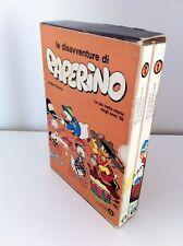 LE DISAVVENTURE DI PAPERINO 1-2 CON COFANETTO OSCAR MONDADORI 1977