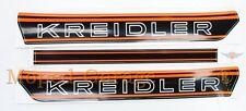 KREIDLER FLORETT RS RMC autocollant réservoir pièce Orange cyclomoteur kkr