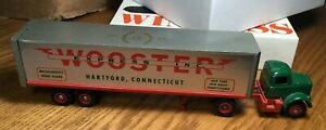 Winross White 9000 Wooster Express 50th Anniversary Tractor/Trailer 1/64