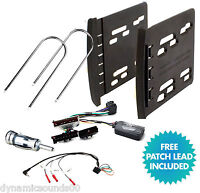 Ford Focus 1995 - 2005 MK1 Double Din Car Fascia & Steering Wheel Interface Kit