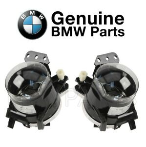 For Pair Set of Front Left & Right Fog Lights Genuine BMW E46 325Ci 330Ci