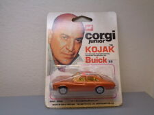 CORGI JUNIOR No 68 VINTAGE KOJAK BUICK MINT ON CARD