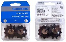 SHIMANO 105 RD-5800 GUIDE PULLEY SET GS 11 BIKE JOCKEY WHEEL TENSION GEAR SHIFT