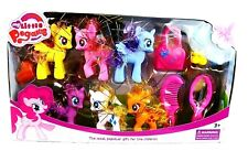 Huge My Little Pegasus Pony Unicorn Fantasy Play set with Accessories Kids Gift