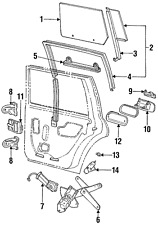 Genuine Ford Handle Outside XF3Z-6322404-AA