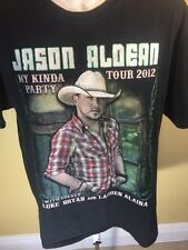 Jason Aldean 2012 Concert Shirt My Kinda Party  Men's Medium/ Luke Bryan