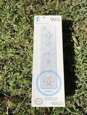 NIB WHITE Nintendo Remote Plus Wii Wii U Motion Plus Controller