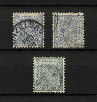 (YYAO 838) Wurttemberg 1881 TYPE USED OFFICIAL DIEN Mich 204 Germany