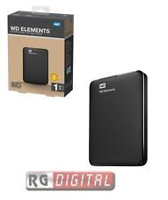 HD WD ELEMENTS WESTERN DIGITAL HARD DISK ESTERNO 2,5 1TB 1000 GB WDBUZG0010BBK