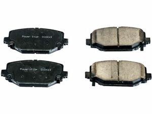 Rear Power Stop Brake Pad Set fits Dodge Journey 2012-2017 65HXWC