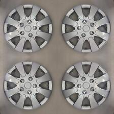 """Plata 13 Pulgada 13"""" Tapacubos Rueda Molduras Para Ford Fiesta MK 3 de 1989 a 1997 X109"""