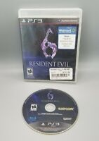 Resident Evil 6 (M) PLAYSTATION 3 (PS3) Horror (Video Game) - NO Manual!