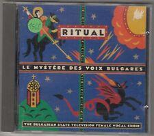 LE MYSTERE DES VOIX BULGARES - ritual CD