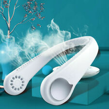 Neck Fan Portable Personal Cooler Rechargeable Hanging Wearable Neckband Fans