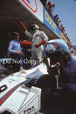 Carlos Pace Brabham BT44B de Martini Racing Austriaco Grand Prix 1975 fotografía