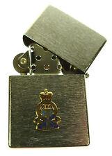 RAOC ROYAL ARMY ORDNANCE CORPS WINDPROOF CHROME PLATED LIGHTER