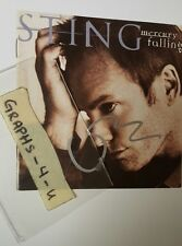 Sting Signed Autograph the Police COA 1