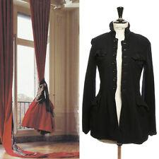 campaign COMME des GARCONS AW94 navy blue shrunken boiled wool jacket coat S US4