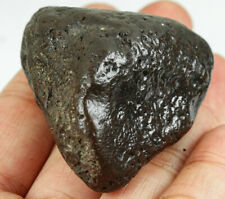 """379Ct Natural Magnetite """"meteorite shape"""" Collectible Specimen Africa YYST19"""