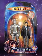 DOCTOR WHO FIGURE - THE 2nd SECOND DOCTOR & TOMB OF THE CYBERMEN CYBERMAN