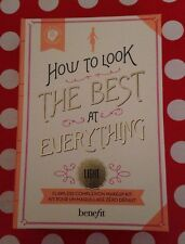 3 X EMPTY BOXES Of Benefit How To Look The Best~ Use As Makeup/Jewellery Box!