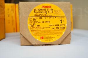 Bulk roll 70mmx100ft slide film - Kodak Duplicating 5071 - E6 - Sealed FROZEN