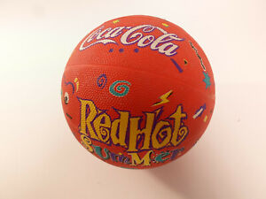 Vintage Rawlings 90s Basketball Coca-Cola Advertising Promotion Red Hot Summer