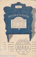 Kuriosum 11.11.11 Hamburg Postbriefkasten AK Hamburg Künstler 1606424