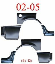 02 05 Ford Explorer 6Pc Dog Leg, Arch & Lower Quarter Kit, Rear Bed Patch New!!