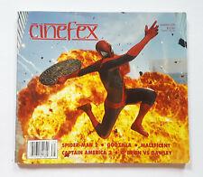 CINEFEX #138 BOOK MAGAZINE Spider-Man COVER w/ Captain America Godzilla FEATURE