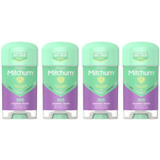 4 Pack Mitchum Women Shower Fresh Gel Anti-Perspirant & Deodorant 2.25 Oz Each