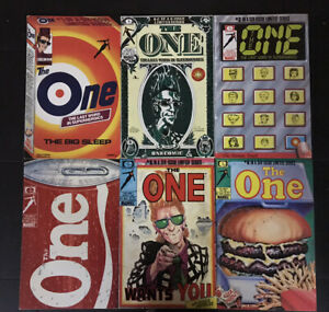 The One 1-6 Complete Set Full Run Marvel/Epic Comics 1985 Rick Veitch 2 3 4 5 NM