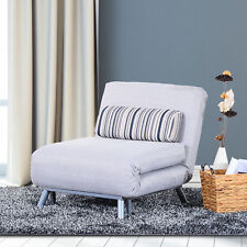 klappbar Schlafsessel Schlafsofa Klappmatratze Bett Gästebett Grau Sofa