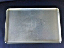 Antiques, Metalware, Trays, Hand Forged Everlast Metal, Alloy, 1900-1940, Usa