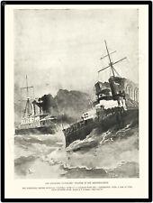 1893 British Warship Disaster New Metal Sign: Victoria & Camperdown Collision